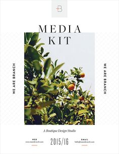 5 Reasons Why Your Business Needs a Media Kit. P.S. Make your in Canva in minutes!