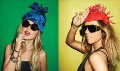 The Sass & Bide 2011 Eyewear Campaign Exudes Photobooth Fun #fashion trendhunter.com