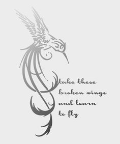 """Buy Now: Take These Broken Wings and Learn to Fly - Digital Download - Instant - 20""""x24"""" - $5.00 - Lyrics - Mr. Mister - Music Quotes"""