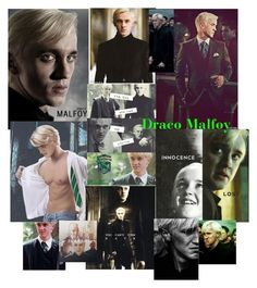 """""""Draco Malfoy"""" by pollyesmeyates ❤ liked on Polyvore featuring art"""