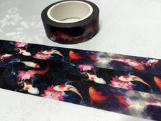 Qty: 1 roll - 10m /11 yards Width: 1.5cm / 0.6 Material: Washi Paper  For more fishes, please visit https://www.etsy.com/shop/TapesKingdom?search_query=fish  Its your creative time:p For more tapes, please visit our shop:D https://www.etsy.com/shop/TapesKingdom  Items will be send by regular airmail with Tracking number (Registered Mail). We are located in Hong Kong and the delivery via airmail takes 1 to 3 weeks depending on your locatio...