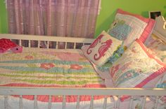 The perfect shabby chic beach room for my little surfer girl