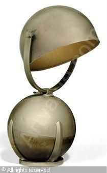 AUBLET Félix,'BOULE' TABLE LAMP,Christie's,London