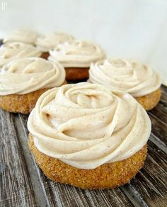 Pumpkin Snickerdoodles With Cinnamon Cream Cheese Icing