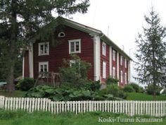 Koski-Tuuri of the main building's history dates back to the late 1700. South Ostrobothnia province of Western Finland. -  Etelä-Pohjanmaa. Alavus, Töysä, Tuuri,