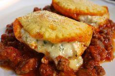 Cheesy Biscuit Lasagna   Plain Chicken