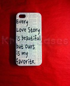 Iphone 5 Case New iPhone 5 case Every love story is by KrezyCase, $14.95