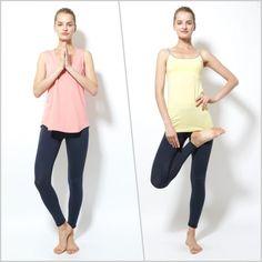 ナノシア加工ヨガレギンス - Yoga and Relax wear Julier ヨガ&リラックス ウェア ジュリエ ヨガウェア