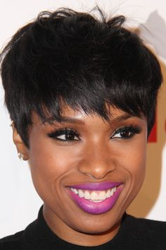 short razored haircut for women