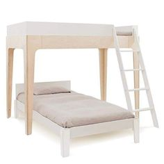Brooklyn based design company known for our modern range of nursery furniture, stylish kids knitwear, and organic layette. Bunk Beds For Girls Room, Bunk Beds With Stairs, Cool Bunk Beds, Twin Bunk Beds, Kids Bunk Beds, Girls Bedroom, White Bunk Beds, Modern Bunk Beds, Mezzanine Design