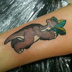 little foot land before time tattoo - Google Search
