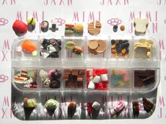 135pc Polymer Clay Assorted Food Decoden DIY SET by MIMIJAXN, $20.00