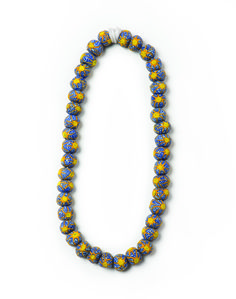 Glass Bead necklace by Cedi
