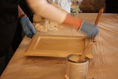 refinishing kitchen cabinets w 1 easy product