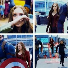 WANDA!!! Yes to all the Scarlet Witch scenes!!