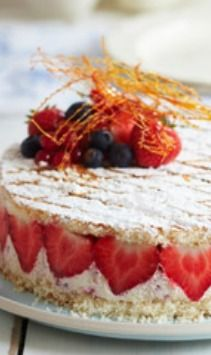 Instant strawberry gateau - Want to prepare it yourself? Click on the image!
