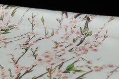 Pure mulberry silk organza satin fabric pink peach by LazyRuler, $14.98 DG fabric!!!!!!