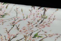 Pure mulberry silk organza satin fabric pink peach by LazyRuler, $14.98 DG fabric!!!!!!