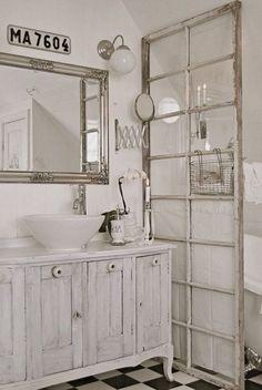50+ Amazing Shabby Chic Bathroom Ideas - Noted List