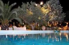Ktimata gamou με πισίνα. Δεξίωση γάμου σε κτήμα γάμου με πισίνα. Ksktimata