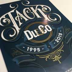 "«""Tack Du&Co 1995-2015"". Cover design for the last ever issue of Du&Co.»"