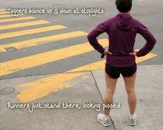 runners vs. joggers
