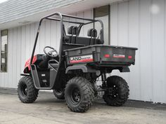 We've been working hard to keep up with orders for American-made American SportWorks Landmaster side-by-side UTVs, this spring. So we're happy to report that we just received and assembled this LM400 model equipped with the 390cc Honda gas engine, locking rear differential, 25 inch tires, and 400 lb. capacity rear dump bed. As equipped, this unit is only $5190. Or qualified buyers can finance it for as little as $107.48 per month.   #AmericanSportWorks #Landmaster #LM400 #sidebyside #UTV