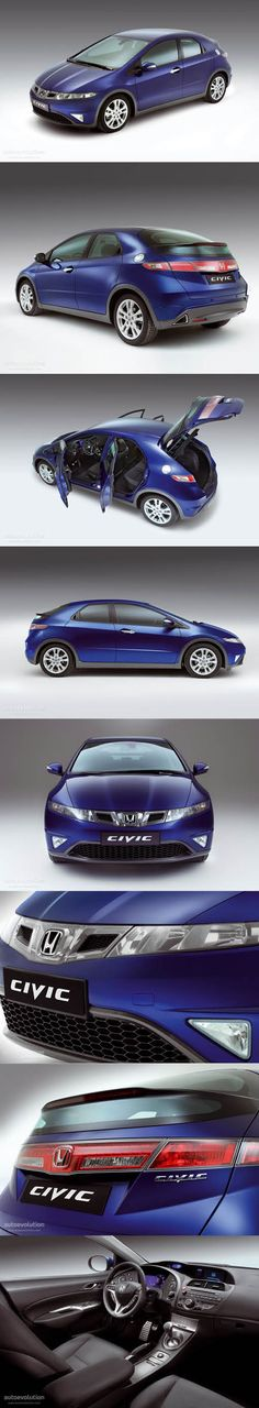 2008 Honda Civic / blue / Japan / 'The Spaceship' / Toshiyuki Okumoto / FK FN