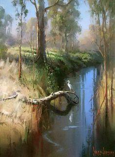 Ivars Jansons - Harold A. Cowx - - Ivars Jansons - Harold A. Watercolor Landscape, Landscape Paintings, Watercolor Paintings, Beautiful Paintings, Beautiful Landscapes, Painting Inspiration, Cool Art, Scenery, Fine Art