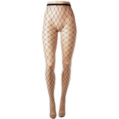 HUE Large Fishnet Tights (Black) Fishnet Hose ($13) ❤ liked on Polyvore featuring intimates, hosiery, tights, hue pantyhose, fishnet stockings, hue hosiery, fishnet hosiery and hue stockings