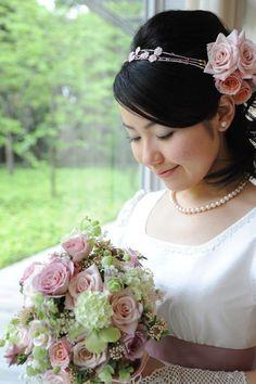 新郎新婦様からのメール 春のお花畑 ルアール東郷様へ : 一会 ウエディングの花