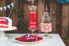 red white and blue wedding ideas Nessa K Photography 550x366 Happy 4th of July!