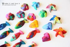 homemade crayons.  saw this a while back on her blog and REALLY want to do this with the boys.  definitely something fun to do when the weather turns cold.