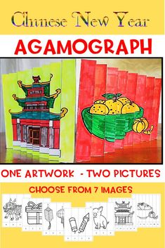 Chinese New Year Agamograph, 50 pages, video Chinese New Year Activities, Holiday Activities, Classroom Activities, Holiday Games, Reading Resources, Teacher Resources, First Year Teaching, Teaching Ideas, February Holidays