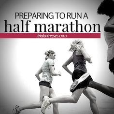 Preparing to run a half marathon