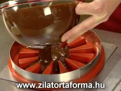 Zila Cake Moulds and the new technology makes possible to fill cakes with liquids!lang=EN Part Migno. Cake Topper Tutorial, Cake Toppers, Cake Moulds, Ganache Cake, Cake Art, Diets, Cake Recipes, Bakery, Cheesecake