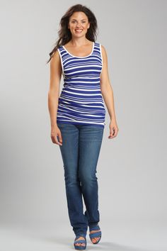 LOVE MILK Nursing tank top Emma in Riviera stripe, bamboo jersey £29 http://shop-uk.lovemilk.se/products/emma-nursing-vest-riviera-stripe