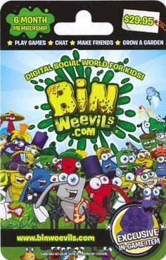 Bin Weevils 6 Month Gift Card Bin Weevils https://www.amazon.com/dp/B00HCRT48I/ref=cm_sw_r_pi_dp_IH6Axb02AKQG3