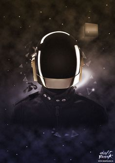If you love Daft Punk you'll love this selection of awesome illustrations :)