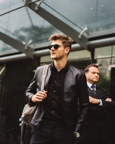 London Collections Men // Day 2 Street Style