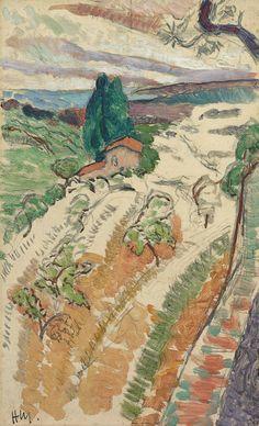 Paysage, St. Tropez Henri Matisse Date: 1904