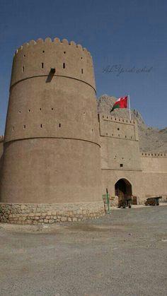 Biet Almarah fort - Yenqel- Oman