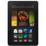 """Kindle Fire HDX 7"""", HDX Display, Wi-Fi and 4G LTE, 64 GB - Includes Special Offers. Review more Kindle's, from previous generation, to refurbished, to larger screens and GB.  The Amazon Kindle Fire."""