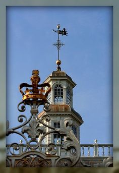 Top of Governor's Palace, Colonial Williamsburg.