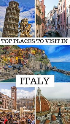 Top places to visit in Italy - Best places to visit in Italy - Which places to visit in Italy - The best towns to visit in Italy-