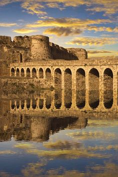 The Venetian fortress at Methoni, Greece. For luxury hotel deals in Greece visit www.mediteranique.com/hotels-greece/