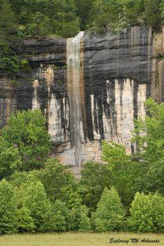 Roark Bluff Falls - -Steel Creek Area -- via ExploringNWArkansas.com