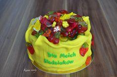 Gelatin candy cake tort haribo