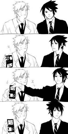 "Omg ahahah Sasuke's face XD I laughed so much...it's like: ""Omg Naruto, why are you so usuratonkachi..."""