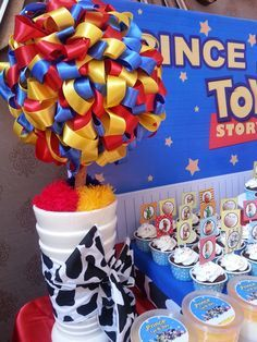 Toy Story# dessert table